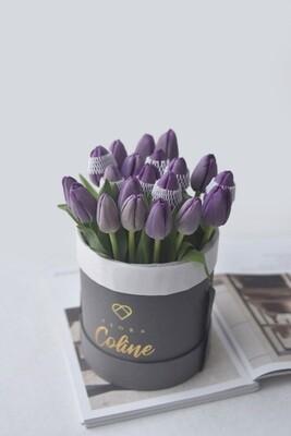 Classic Small Bucket: Tulips