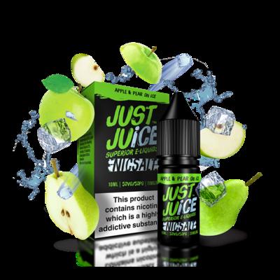Just Juice Nicsalt Apple and Pear On Ice 30 mlts