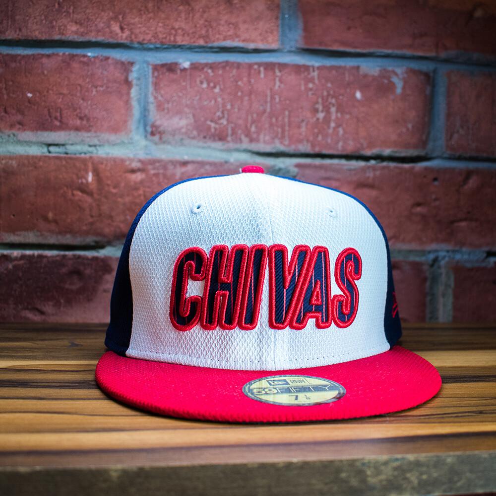 New Era - Gorra Chivas Tricolor Letras