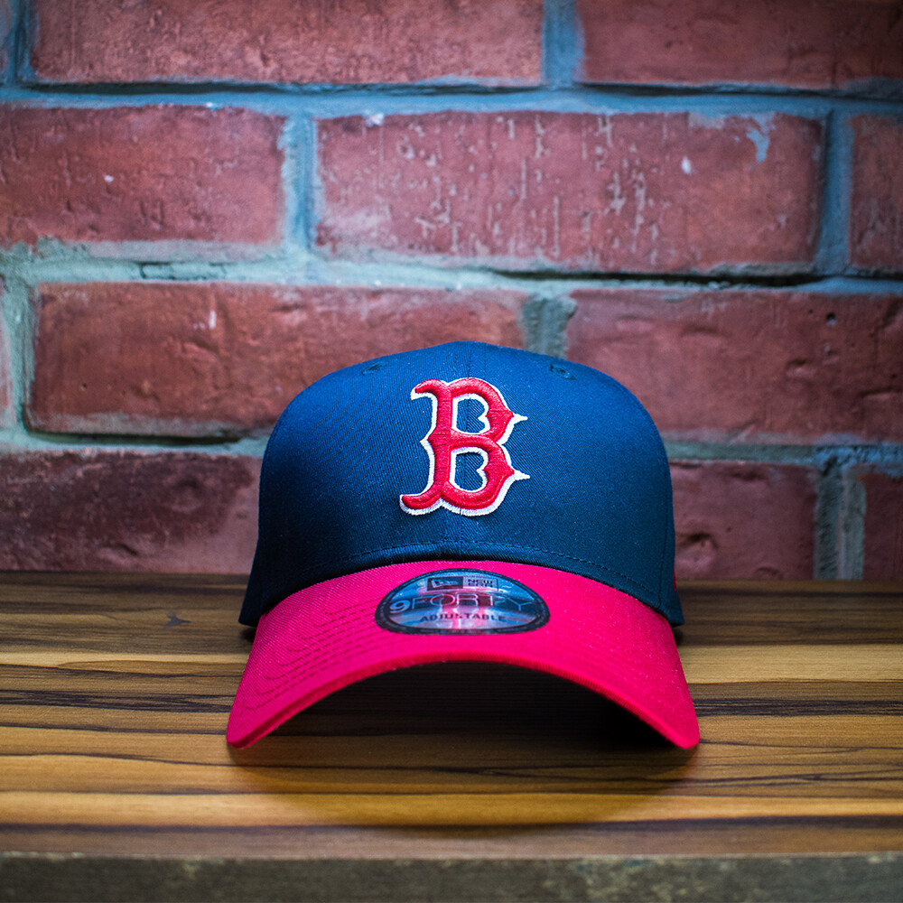 New Era - Gorra Boston Rojo Azul