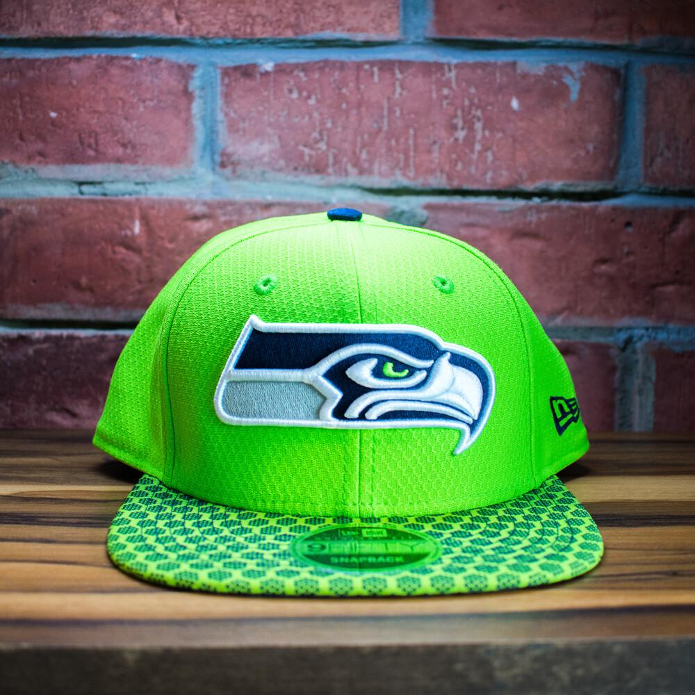 New Era - Gorra Seattle Verde Fosforescente