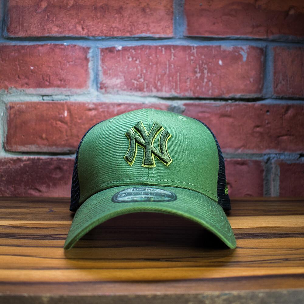 New Era - Gorra New York Verde Negro