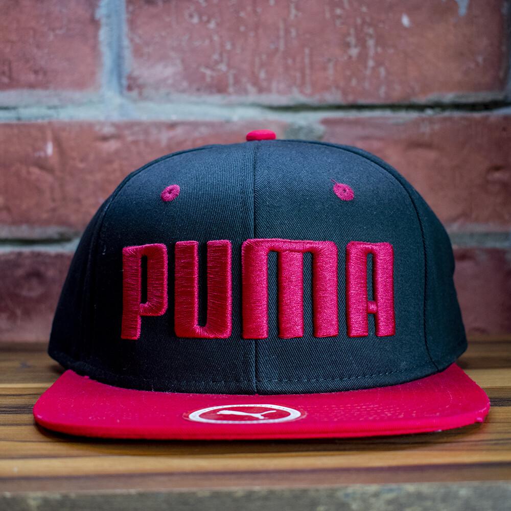 Puma - Gorra Rojo Negro Letras
