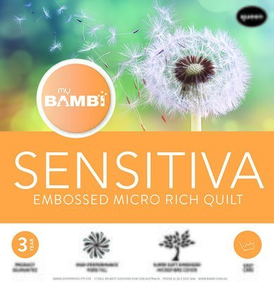 Bambi Sensitiva Microfibre Quilt