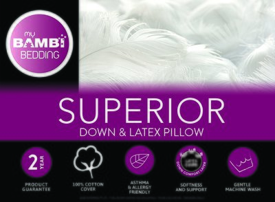 Bambi Superior Feather and Down Pillow