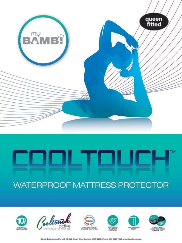 Bambi Cool Touch Active Mattress Protector