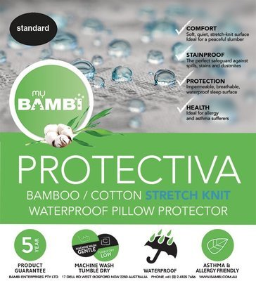 Bambi Proctectiva Bamboo Pillow Protector