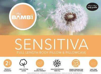 Bambi Sensitiva Body Pillow + Luxurious Santeen Cover