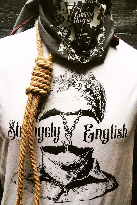 """Strangely English """"dimoraic"""" tshirt"""