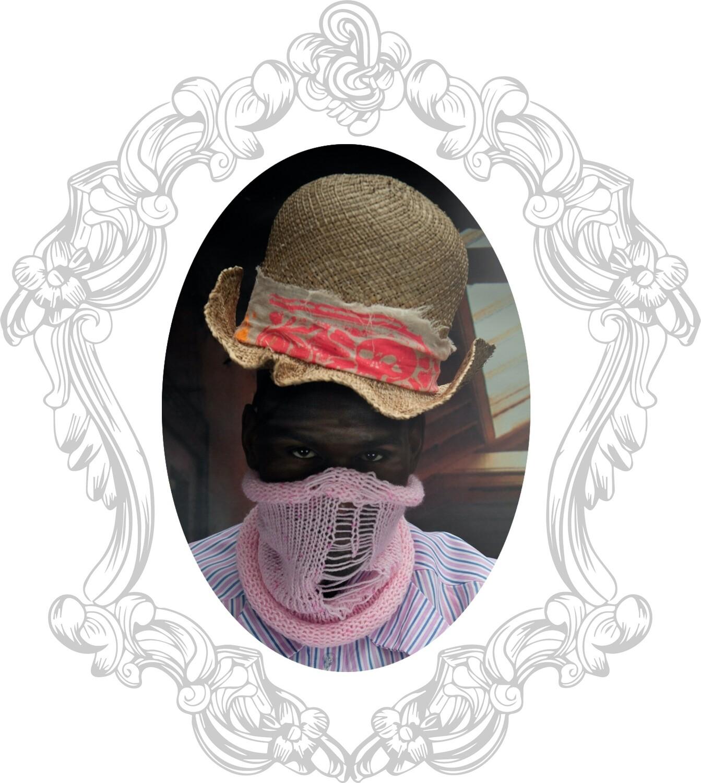 Jabberwocky straw hat