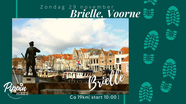Zondag 29 nov 2020  | Brielle, Voorne  | ca. 19km