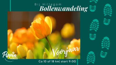 za. 23 en zo. 24 april '22 | Bollenwandeling | ca. 10km of ca 18km