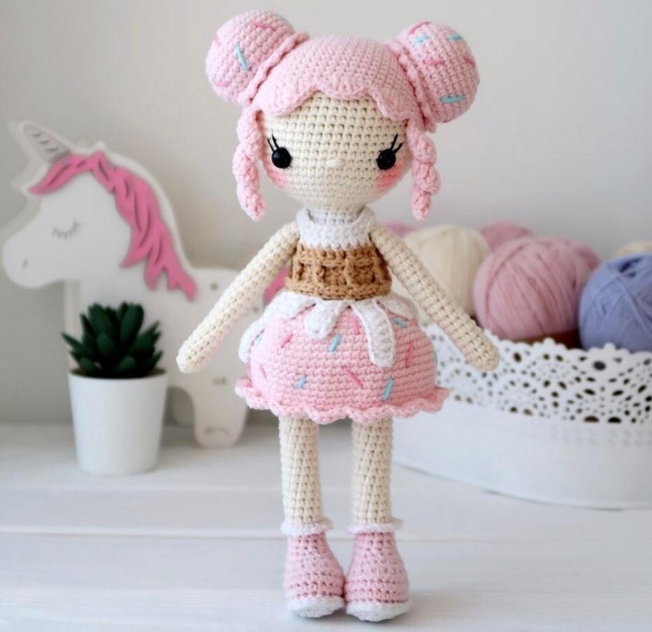 МК куколка Кэнди + раскраска в подарок!
