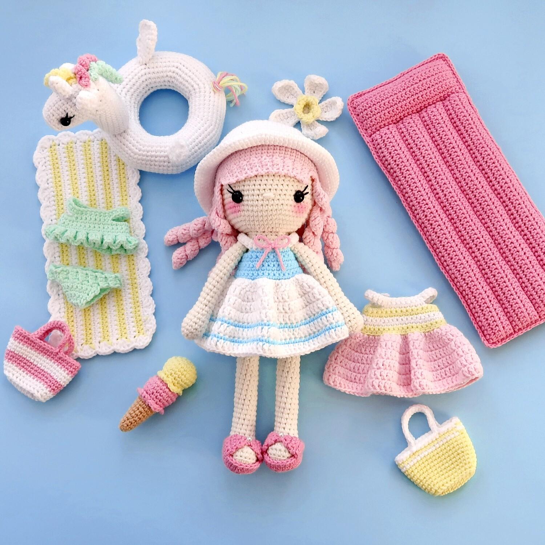 Куколка Санни + Набор Пляж