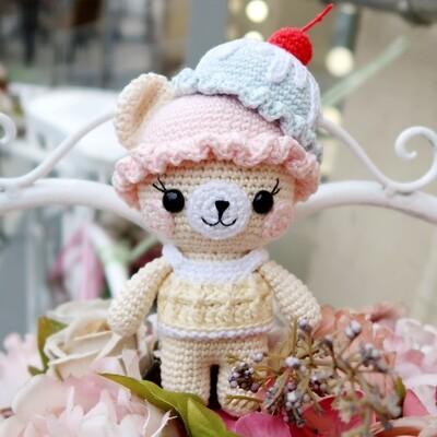 МК сладкий Мишка + раскраска в подарок!