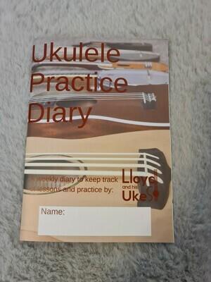 Ukulele Practice Diary