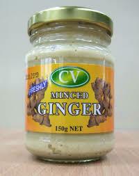 Minced Ginger 150g Jar