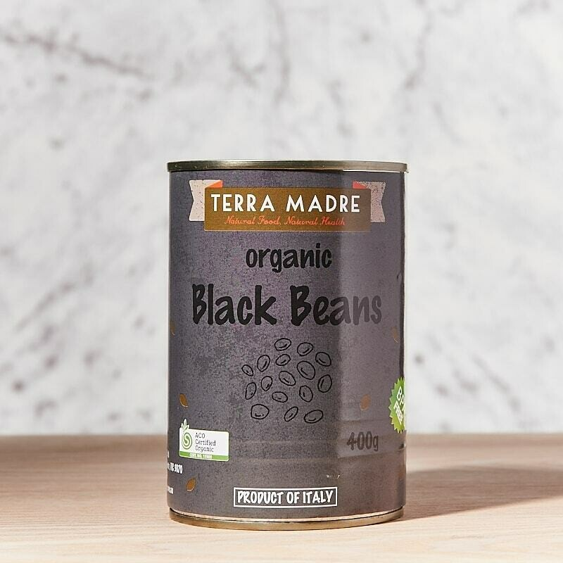 Organic Black Beans Canned 400g