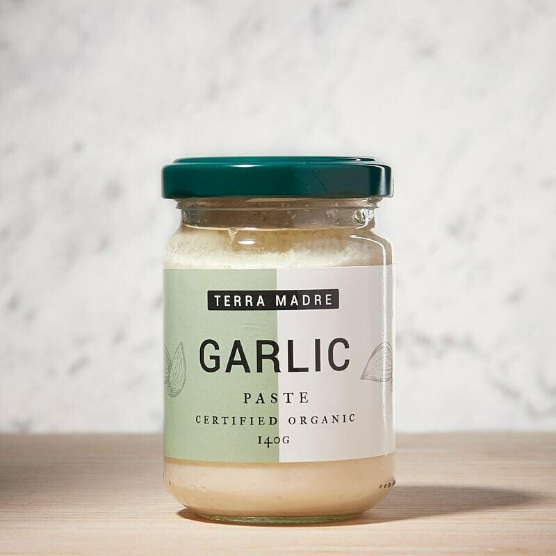 Organic Garlic Paste 140g