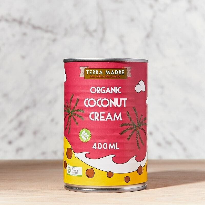 Organic Coconut Cream Premium 400ml