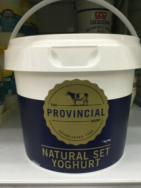 The Provincial Natural Set yoghurt 1kg