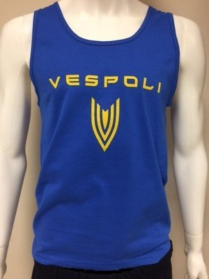 Vespoli Blue - Cotton Tank Top