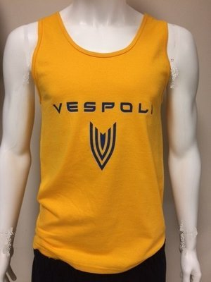 Vespoli Cotton Tank Top Gold