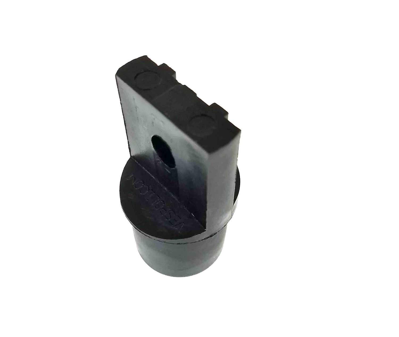 Nylon End Plug - Notched Channel