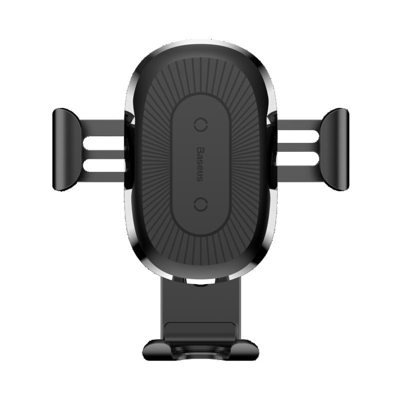 Baseus Wireless Charger Gravity Car Munt - Black