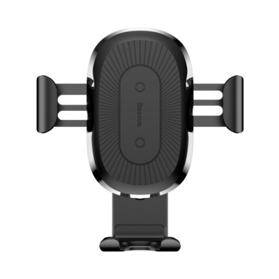 Baseus Wireless Charger Gravity Car Munt - Black