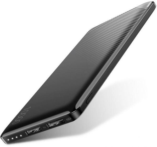 Baseue powerbank Mini Cu 10000mAh Ultra-thin - Black