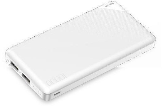 Baseue powerbank Mini Cu 10000mAh Ultra-thin - White