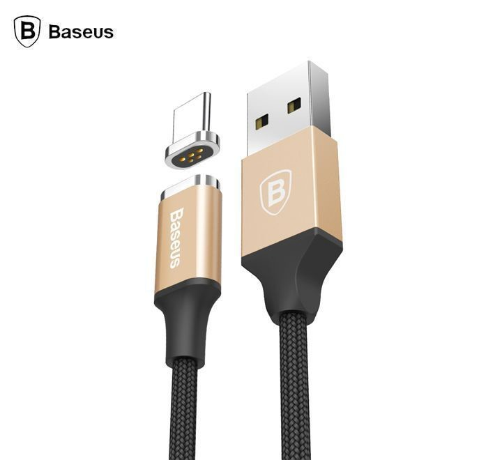 Baseus Insnap Series Magnetic Cable For Type-C - Gold