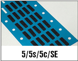 iPhone 5/5s/5c/se Earpiece Ear Speaker Anti Dust Adhesive Grill Mesh