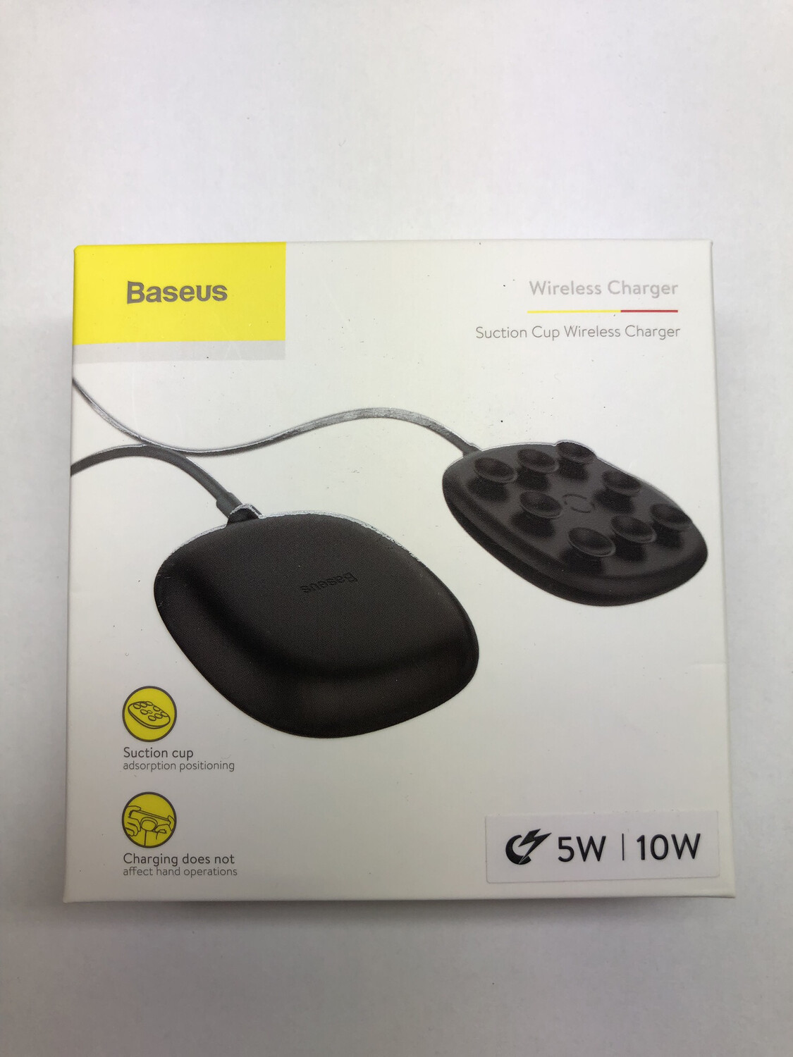 Baseus Wireless Charger (Suction Cup Wireless Charger)