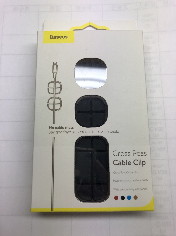 Baseus Cross Peas Cable Clip