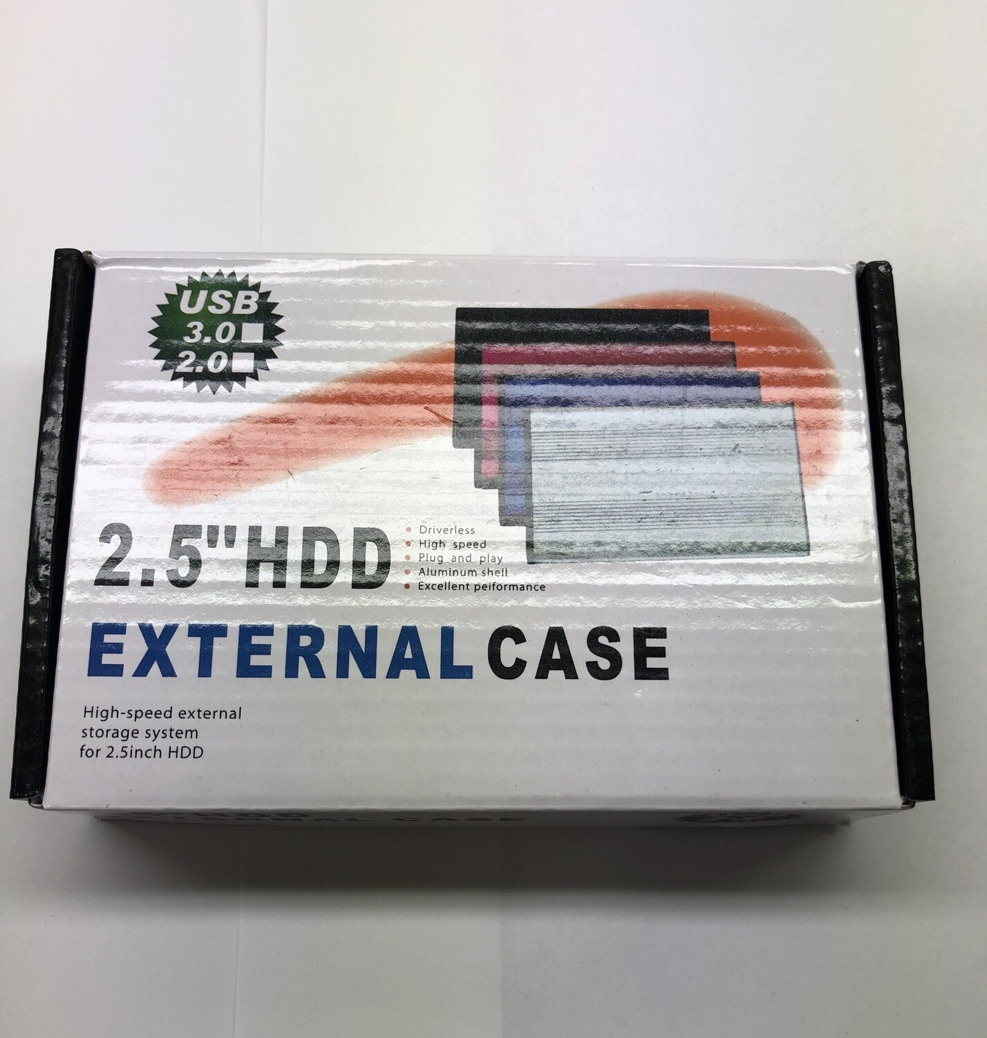 2.5'HDD External Case (USB 3.0/2.0)