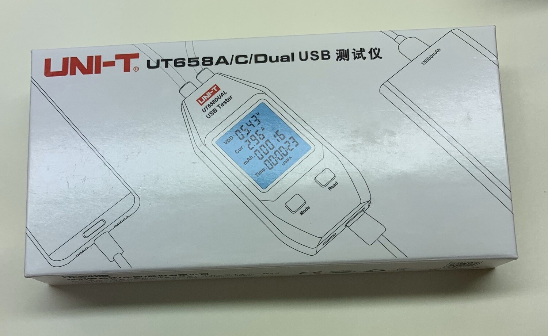UT658A/C/Dual USB Tester