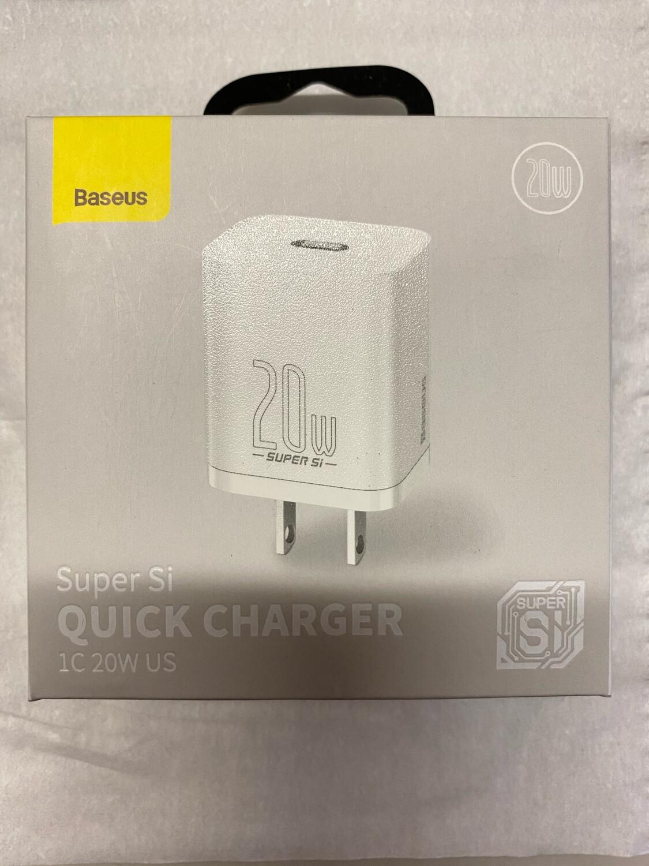 Baseus Super Si Quick charger 1C 20W US