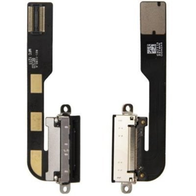 iPad 2 Charging Port Flex Replacement - Black