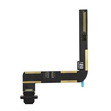 iPad Air 1 / iPad 5/6 (2017/2018) Charging Port Flex Replacement - Black