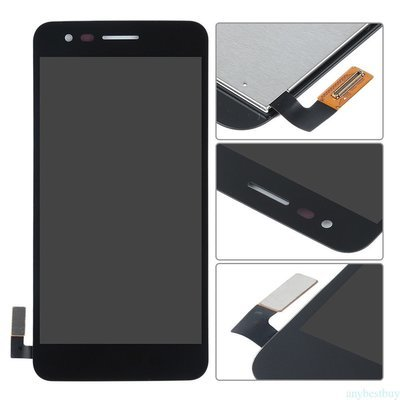 LG K4 (2017) Screen Replacement - Black