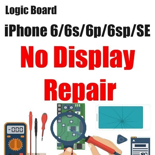 iPhone 6/6S/6P/6SP/SE Display issue Logic Board Repair