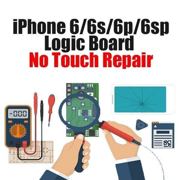 iPhone 6/6S/6P/6SP/SE Touch issue Logic Board Repair