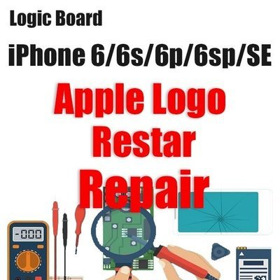 iPhone 6/6P/6S/6SP/SE Apple Logo Restarting Logic Board Repair