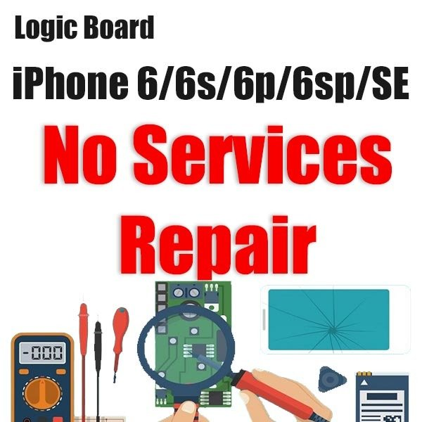 iPhone 6/6P/6S/6SP/SE Network Services Issue Logic Board Repair