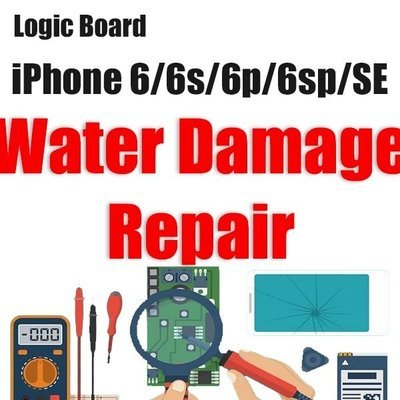 iPhone 6/6P/6S/6SP/SE Water Damage Logic Board Repair