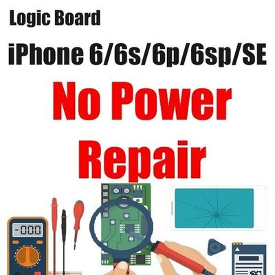 iPhone 6/6P Power Issue Logic Board Repair
