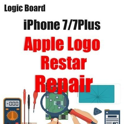 iPhone 7/7Plus Apple Logo Restarting Logic Board Repair