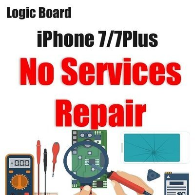 iPhone 7/7Plus Network Services Issue Logic Board Repair